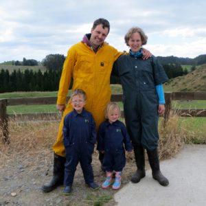 Auf einer Farm in Neuseeland
