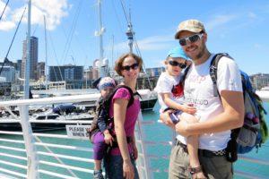 Angekommen in Auckland