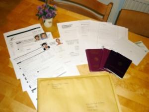 Visaunterlagen von uns