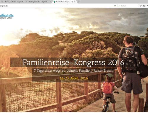 Familienreise-Kongress – Mai 2016