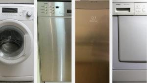 Haushalttsgeräte Waschmaschine Spülmaschine Kühlschrank Trockner