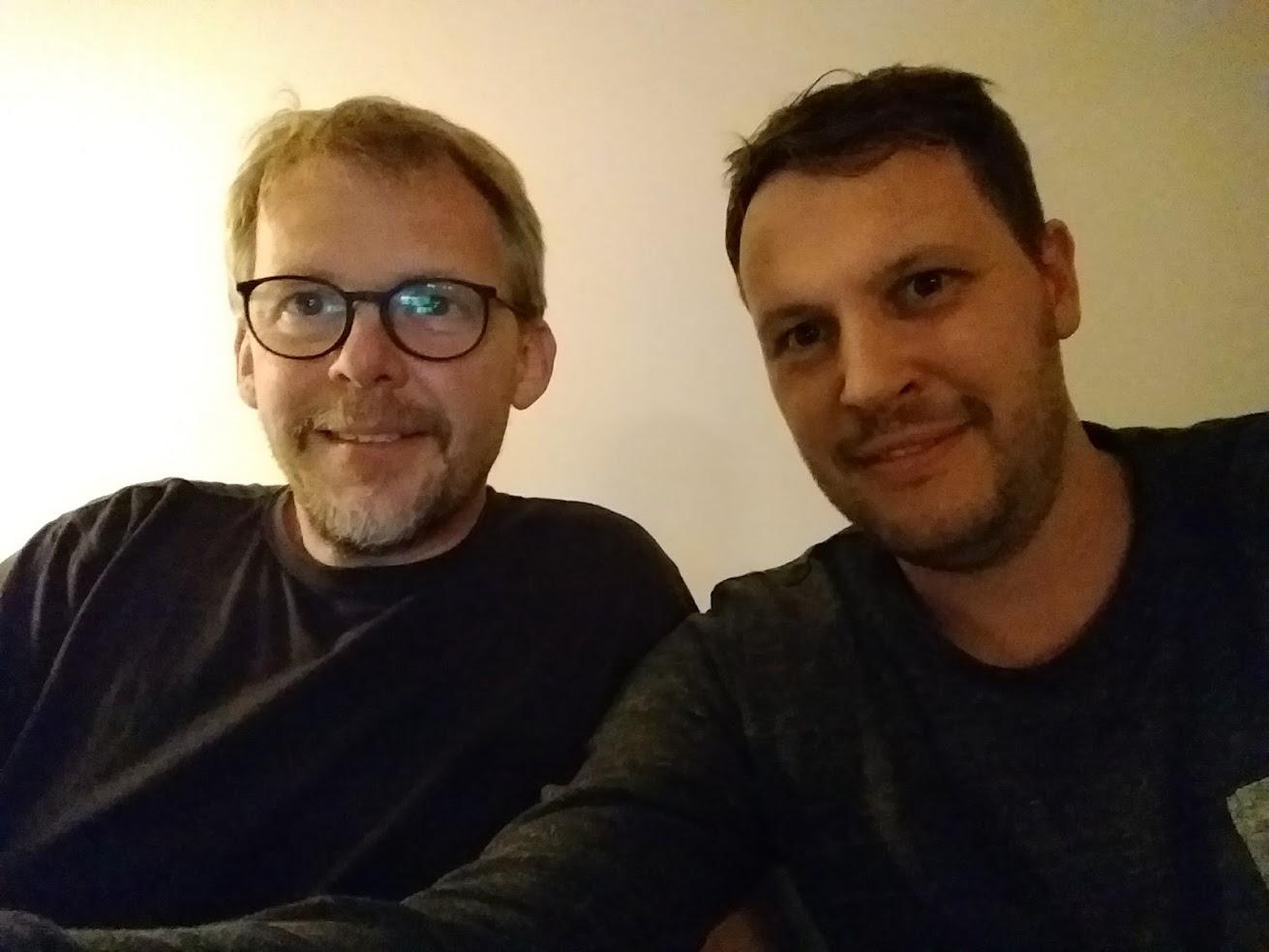 Martin Neitz und Stephan Hübler